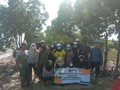 Penanaman Mangrove Bersama Mahasiswa KKN di Desa Citemu