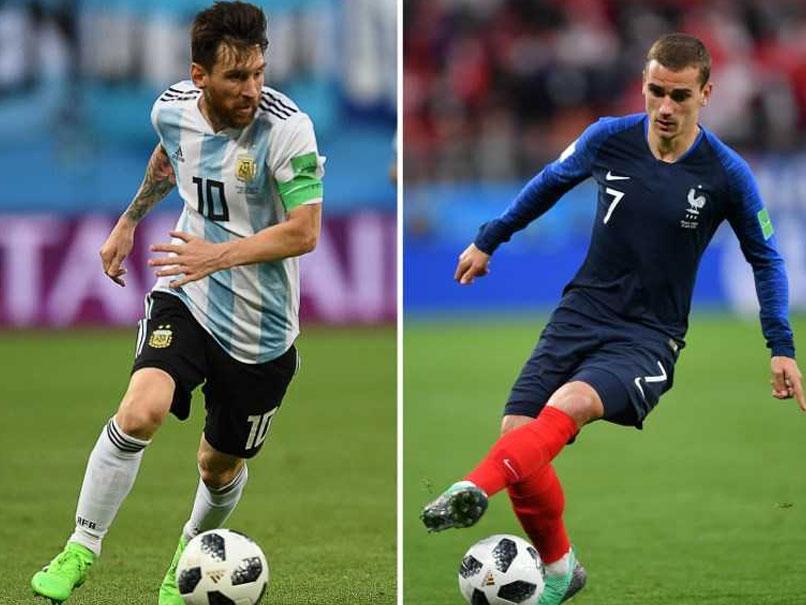 مباراة الارجنتين وفرنسا
