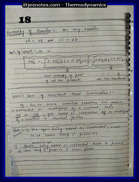 Thermodynamics Notes3