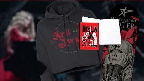 Nuevos productos en la tienda oficial de Avril Lavigne