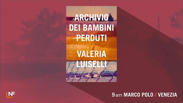 Valeria Luiselli alla libreria MarcoPolo - lunedì 9 settembre alle 20