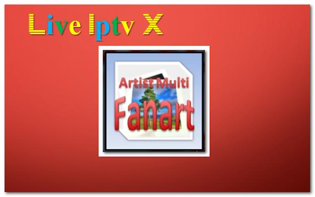 Artist Multi Fanart music addon