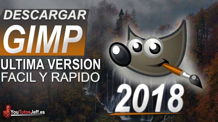 Como Descargar GIMP en Español ULTIMA VERSIÓN 2018