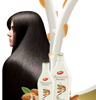 Free Sample Box Of Dabur Almond Shampoo