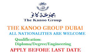 Employment at Kanoo Group Dubai 2019| Jobs in dubai 2019