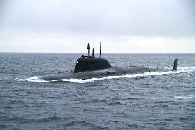 SSN Yasen de la Armada rusa
