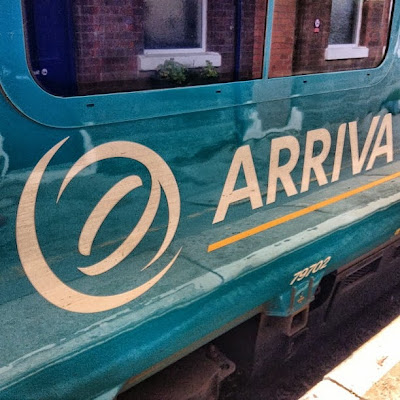 Arriva Train, Wilmslow Station, Cheshire