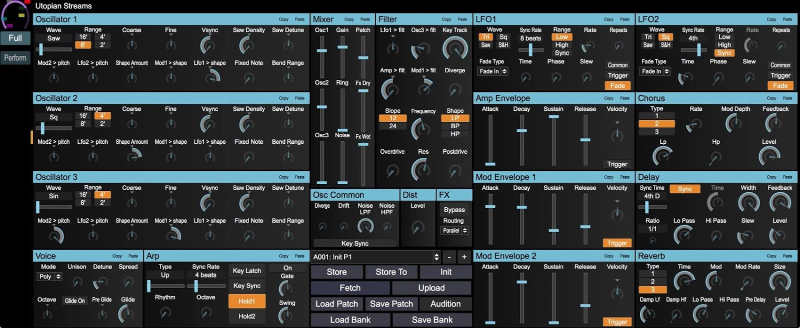 MATRIXSYNTH: Novation Peak Editor from Isotonik Studios in