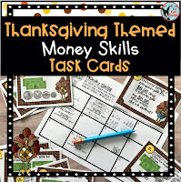 Teachers Pay Teachers Thanksgiving Money Skills Task Cards