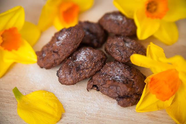 Wielkanoc w wersji fit - ciasteczka czekoladowe