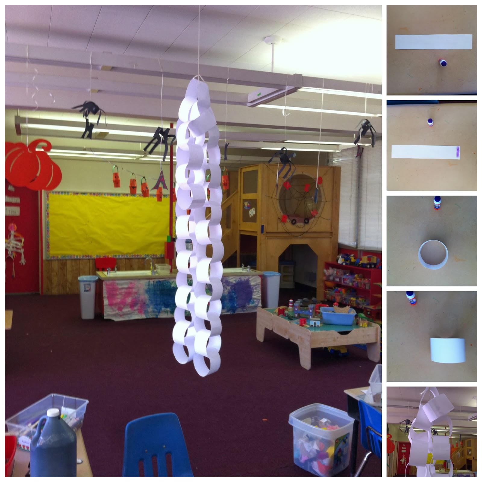 Reinventing Nadine: Handmade Classroom Halloween Decorations