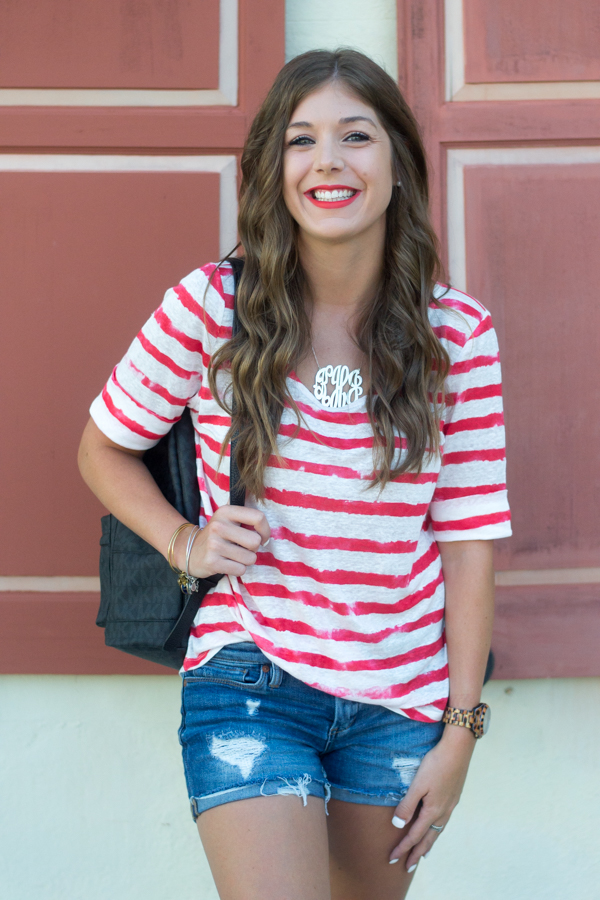 4th of July Casual Outfit Idea | Chasing Cinderella