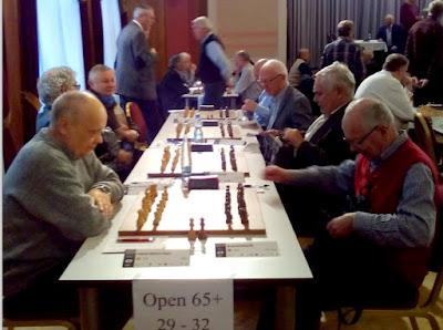 Jaume Anguera en el XXVI Campeonato Mundial de Ajedrez Senior +65