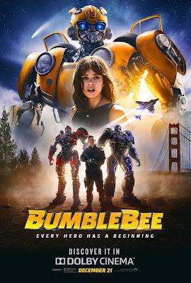 Bumblebee 2018 Dual Audio Hindi 480p HDRip 350MB