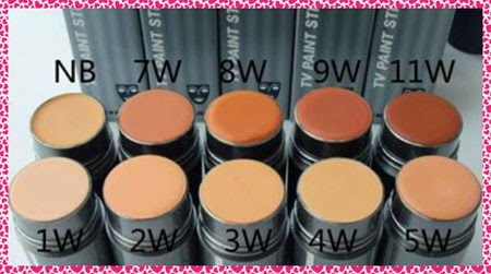 Jual Kryolan di Indonesia: Kryolan TV Paint Stick Foundation