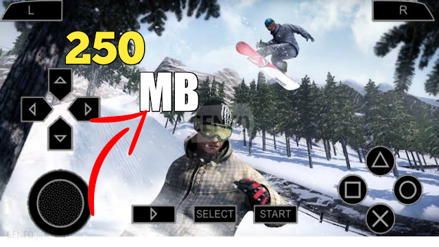 Shaun White Snowboarding PSP Game ISO Highly Compressed File
