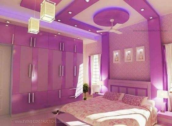 نمادج وافكار ديكورات لتزيين غرف نوم صغيرة المساحة للعرسان