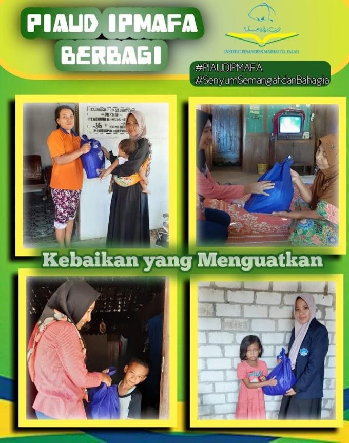PIAUD IPMAFA BERBAGI (Program Studi Pendidikan Islam Anak Usia Dini)