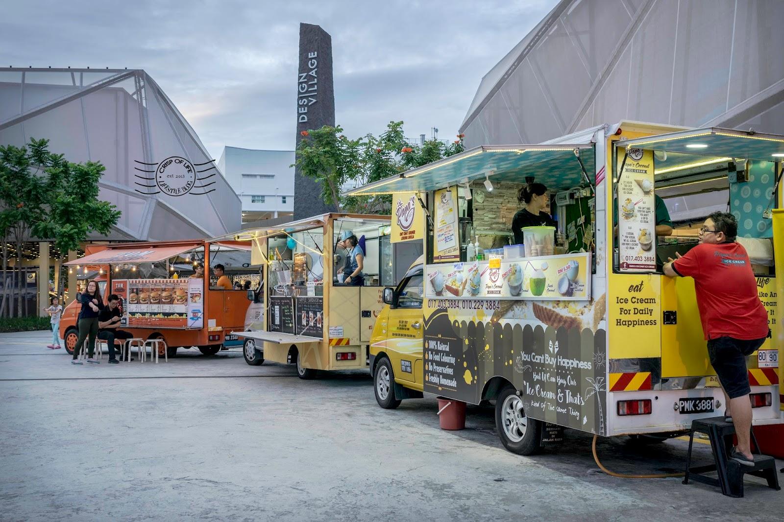 Jiak food festival in conjunction with design village penang s
