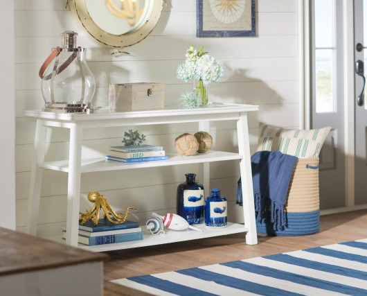 Coastal Entryway with Console Table