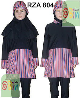 baju renang syari anak RZA 804