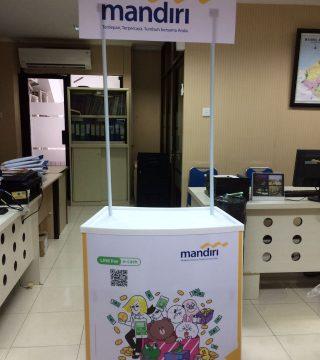 Booth Event Desk Mandiri