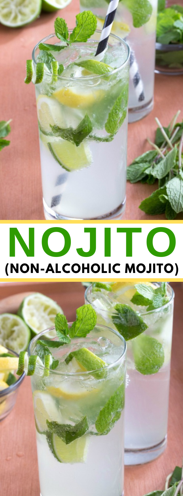 Nojito Recipe #cocktails #drinks