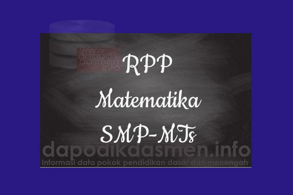 RPP K13 SMP/MTs Kelas 7 Matematika Semester 1, Download RPP Matematika Kurikulum 2013 SMP Kelas 7 Revisi 2019-2020, RPP Silabus Kelas 7
