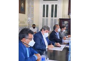 Ministro assina pré-acordo sobre o Rio São Francisco com João e 3 governadores do Nordeste