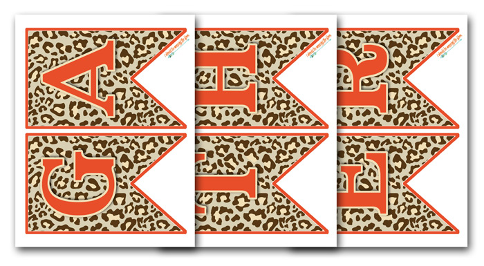 Leopard Printable