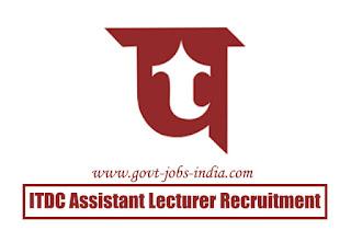 ITDC Assistant Lecturer Recruitment 2020