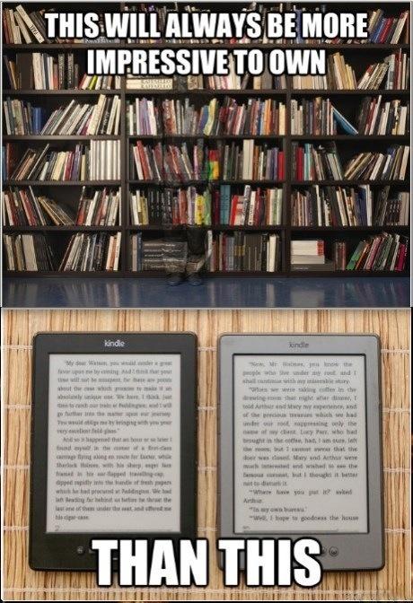 The Post Modern Pulp Blog: Media Monday: The Kindle eBook Reader