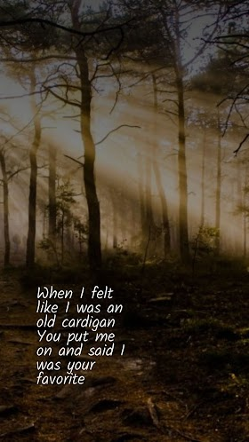 Pictures Quotes Taylor Swift - Cardigan