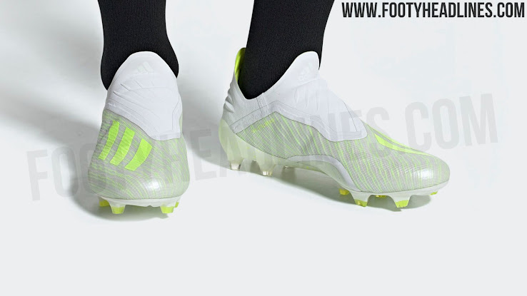 10a1edf9f White   Solar Yellow Adidas X 18+  Virtuoso Pack  2019 Boots Leaked ...