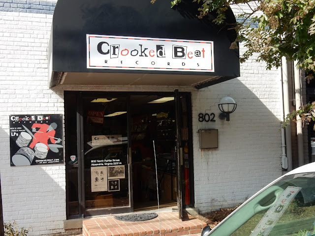 Crooked Beat - Arlington Va. - store front