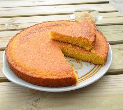 """Gâteau Maïs """"ti-son"""" de la Réunion"""
