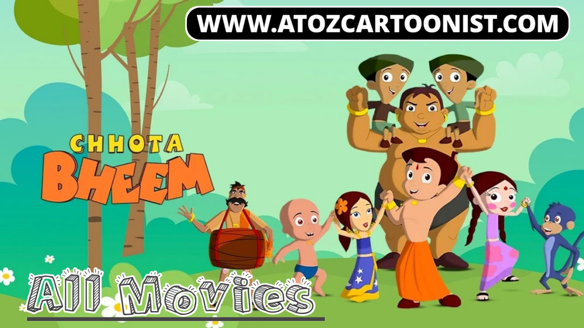 CHHOTA BHEEM ALL MOVIES ACCORDING TO HINDI RELEASE HD DOWNLOAD/WATCH ONLINE