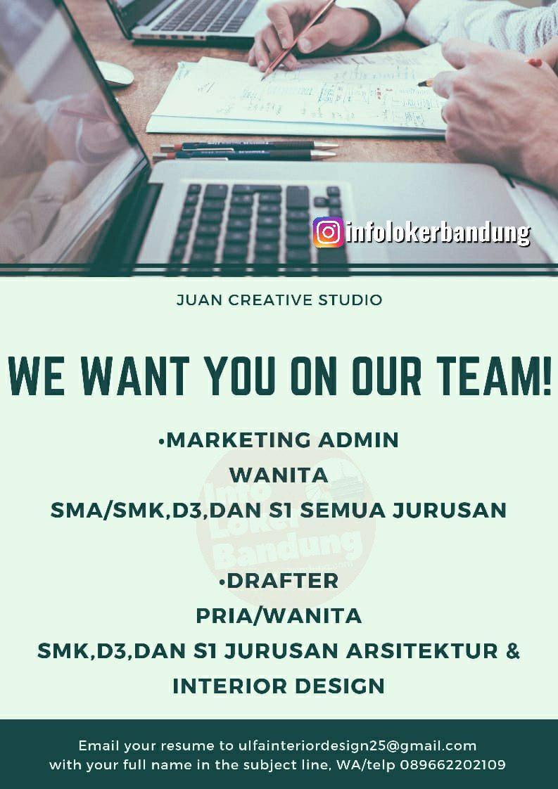 Lowongan Kerja Juan Creative Studio Bandung Agustus 2019