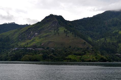 Danau Toba di Sumatra Utara