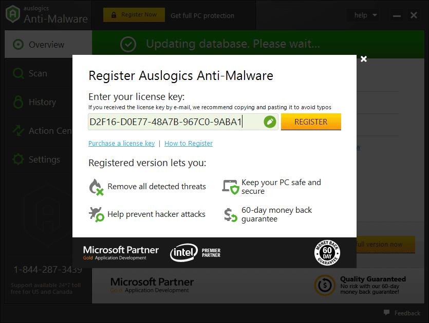 Auslogics Anti-Malware 1.21.0.3 poster box cover