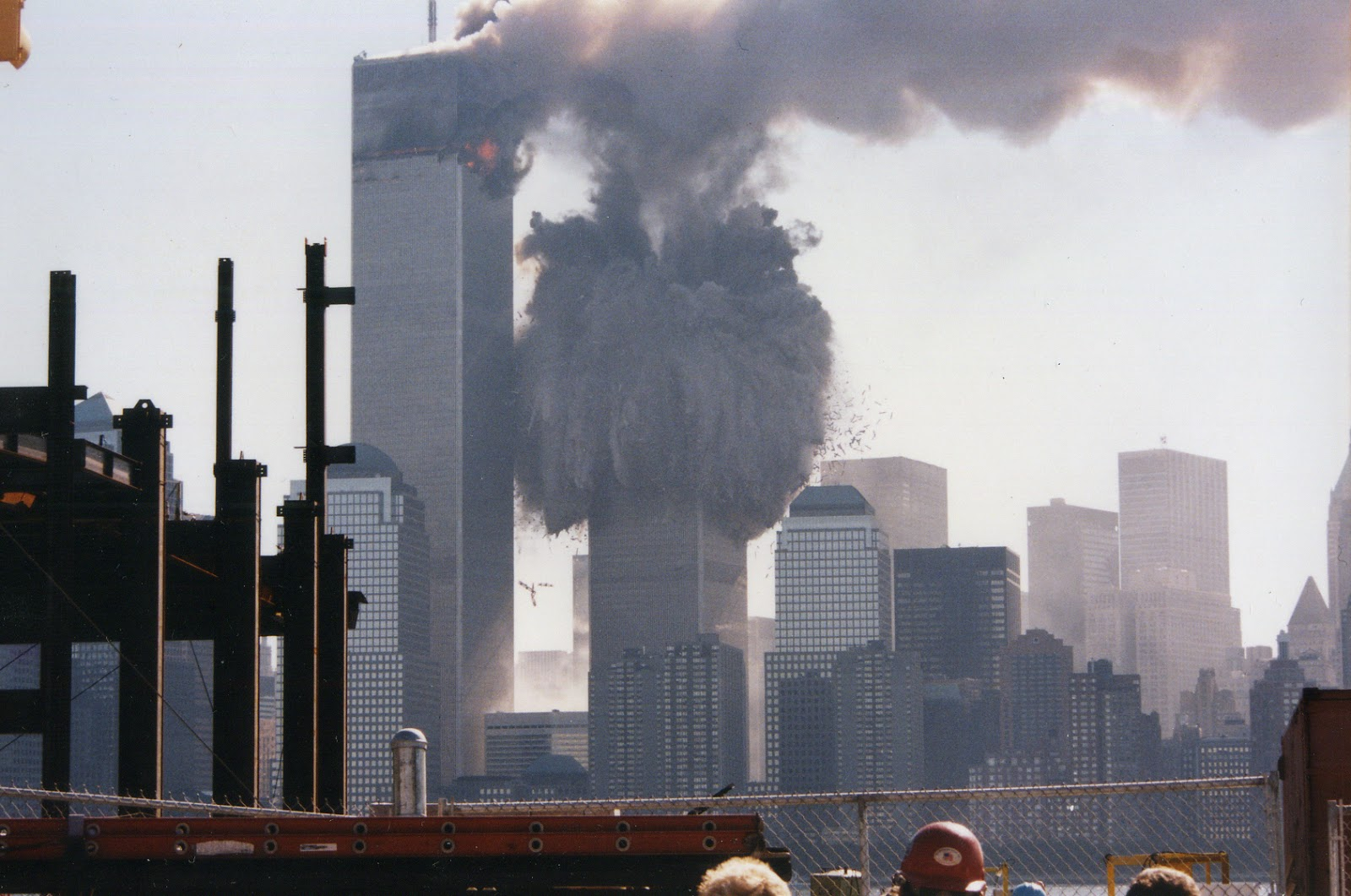september 11 world trade center collapse