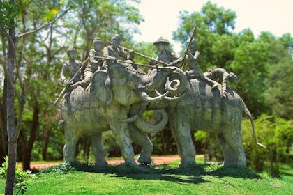 Cerita Legenda Thailand Pertempuran Gajah
