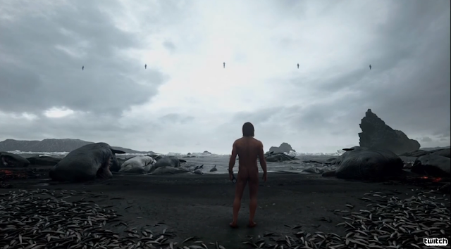 Death Stranding Hideo Kojima Norman Reedus naked