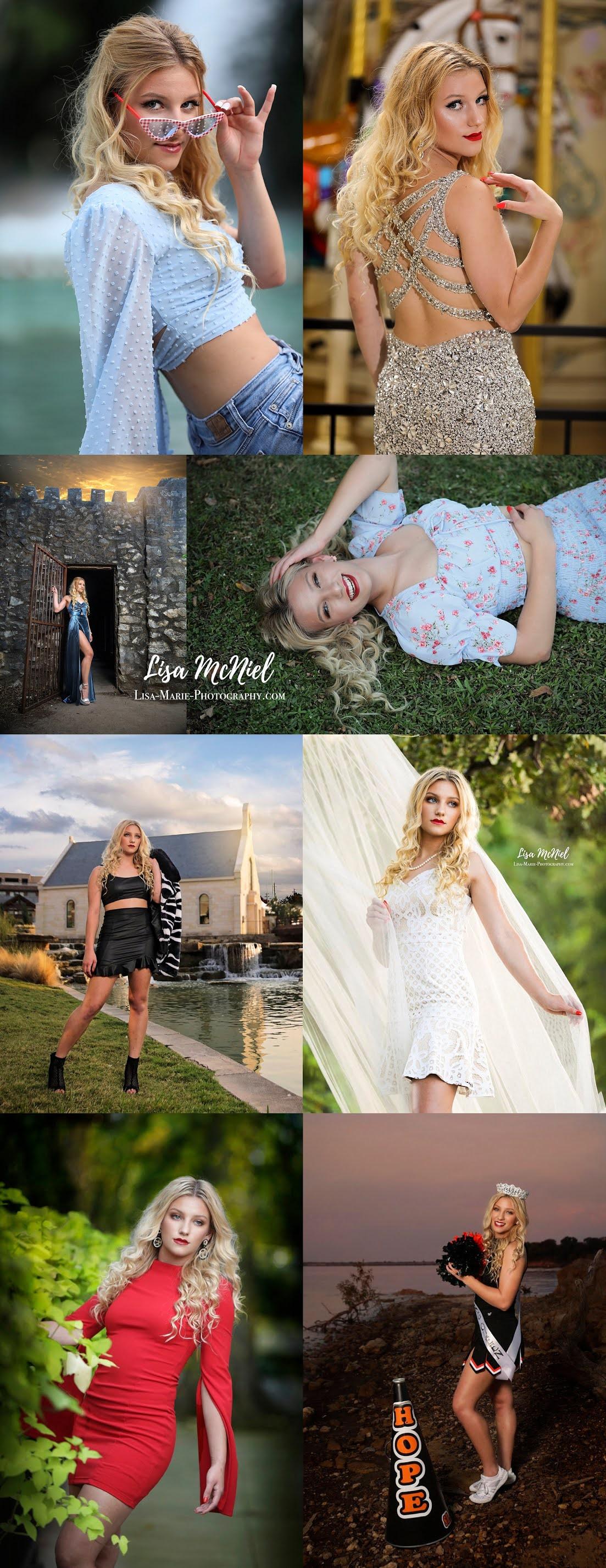 Teen girl senior pictures