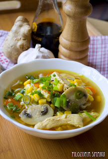 (zupka chinska z kurczaka