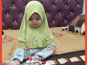 Ucapan Ultah Untuk Cucu Pertama, Halwa Ke 1 Tahun