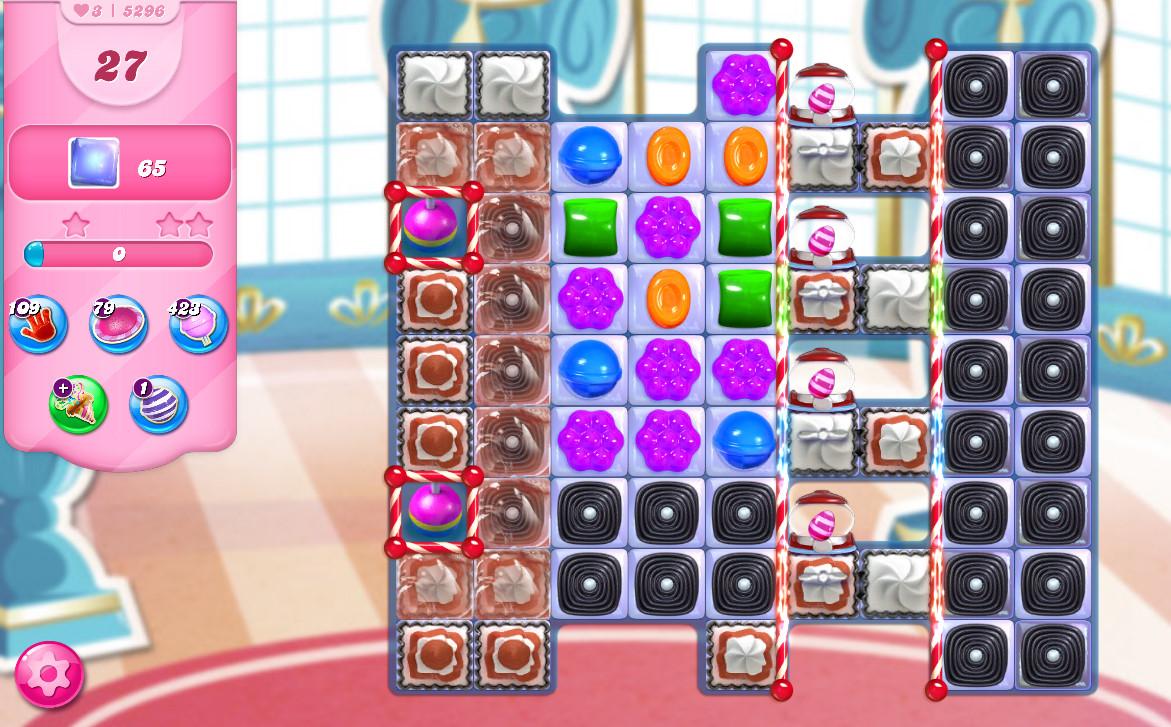 Candy Crush Saga level 5296