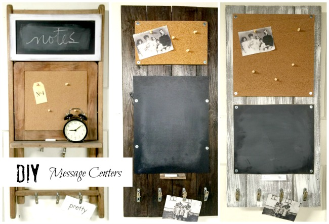 DIY Chalkboard Message Centers www.homeroad.net