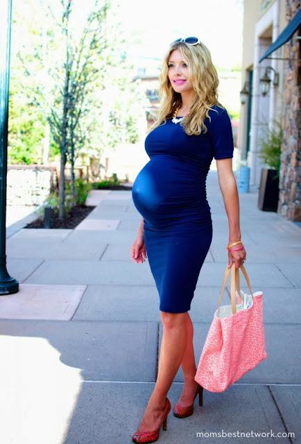 sukienki na imprezę w ciąży
