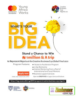 Creative Business Cup Nigeria Empowerment Program 2020